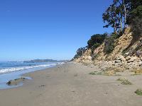 The pretty area east of East Beach.