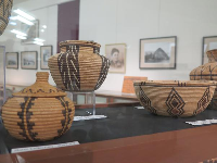 Paiute baskets.
