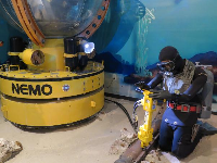 NEMO, or Naval Experimental Manned Observatory, made 671 dives in the Bahamas and off the California coast.