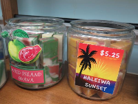 Haleiwa Sunset soap smells so good! Wild Island Guava!