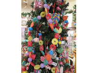 Candy Christmas tree.