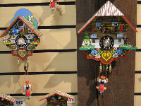 Cuckoo clocks remind me of my great aunt and uncle who had a collection.