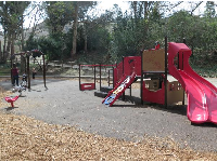 A fun toddler playground.