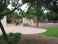 Libbey Park's colorful playground.
