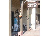 There's a good atmosphere at Java & Joe, a coffeeshop on East Matilija Street, one street back from Ojai Avenue.