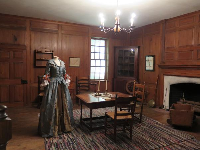 One of the Early Carolina Rooms, in the Wilson Library.