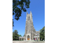 Duke Chapel in all its glory.
