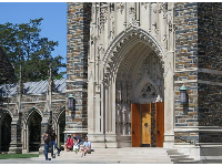 Doorway to Duke Chapel.