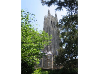 View of Duke Chapel.