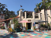 Spanish Village Art Center studios.