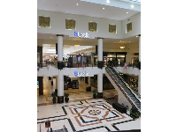 Grand floor in the mall.