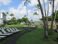Grounds of the Grand Naniloa Hotel.