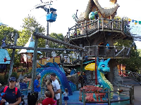 Land of the Dragons play area.