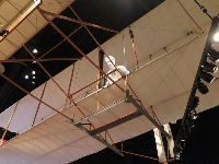 Wright brothers exhibit.