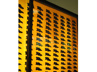 Wall of dire wolf skulls!