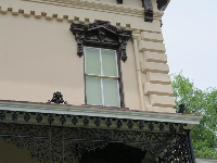 Details of Latimer house.