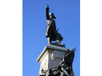 Rochambeau sculpture.
