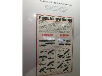 In London, these signs helped British people distinguish between friendly and enemy aircraft.
