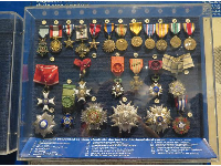 Medals presented to General Doolittle during his career.
