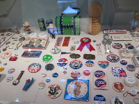 Carter's campaign items.