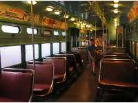 Chicago Rapid Rail car, 1959.