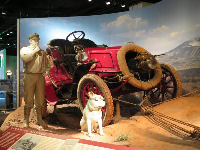 In 1903, H. Nelson Jackson, Sewall Crocker, and their dog Bud, made the first successful transcontinental automobile trip.