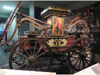 Hand-Pumped Fire Engine, 1842.