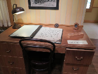 Look in the drawer of Daniel's desk in Germany, where he had a nice house before he was sent away.