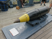 16 inch projectile.