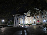 The Old Well at night.