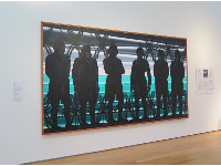 American Landscape with Revolutionary Heroes, by Roger Brown.