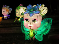 Fairy, at the Chinese Lantern Festival.