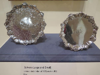 Salvers from London.