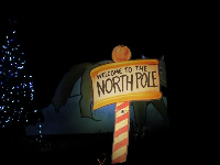 Welcome to the North Pole.