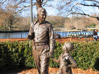 Andy Griffith Show sculpture- so sweet.