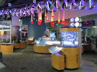 Exhibit about DNA.