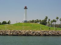 Lighthouse, as seen from Shoreline Village.