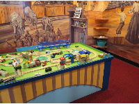 Thomas the Tank Engine set.
