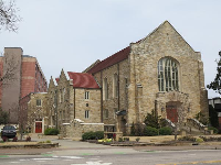 Saint Mary's Church, on Hillsborough Street.