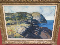 Over to Blackhead, by George Wesley Bellows.