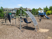 Playground next to the pools.