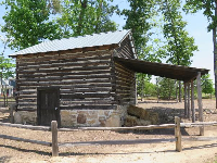 Tobacco Barn in Great Meadow Park.