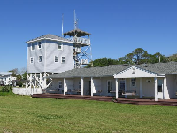 River pilot's lookout tower.