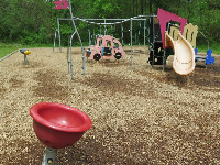 Spinner and toddler playground.