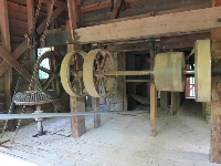 The workings of the mill.
