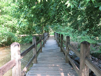 Bridge by the mill.