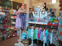 Glee Kids has kid's clothes and toys.