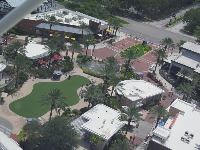 The restaurants at Icon Park.