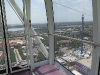 View of the StarFlyer from the chamber.