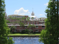 The University of Tampa across the water- what views!